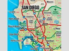 Downtown San Diego Zip Code Map Zip Code Map