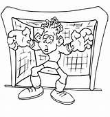 Foot Coloring Soccer Calcio Coloriage Colorare Disegno Football Players Colorier Handball Goalkeeper Portiere Dessin Ausmalbilder Kolorowanka Imprimer Clipart Pantera Negra sketch template