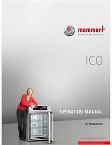 Memmert Ico Operator U2019s Manual