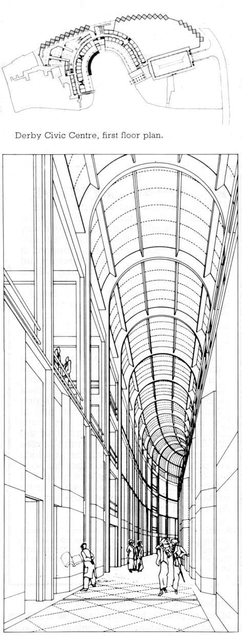 centro civico derby  leon krier  architecture