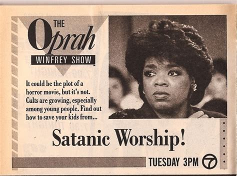 is oprah satan the town tavern surftalk 664 | oprah 1986 2