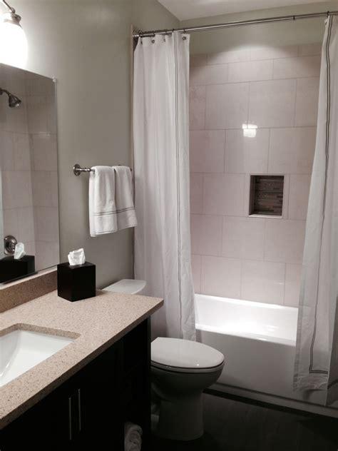 bathroom  finished basement  fairfax va