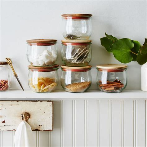 Weck Tulip Jars (Set of 6) on Food52