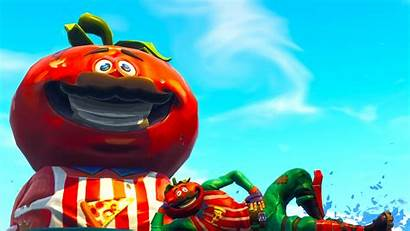 Fortnite Tomatohead Tomato Basket Collect Battle Royale