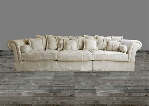 large sofas couches oversized sofa in sand linen