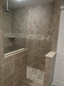 Tiled Walk In Showers by Avente Tile Talk Tile Layout Planning And Preparation