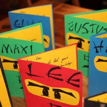 ninja einladungskarten kindergeburtstag ninjago