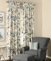 jacobean floral lined rod pocket curtains jacobean floral lined rod pocket curtains curtain store