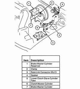 Ford Escort Master Cylinder Diagram