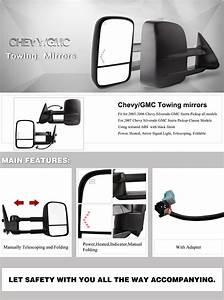 Amazon Com  Yitamotor Chevy Towing Mirrors Chevrolet