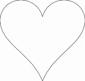 5 free heart shaped printable templates for your craft With heart template for printing