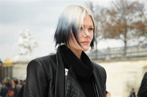 White Black And Gray Hair Colors Ideas