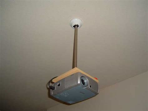 ceiling projector mount diy diy projector ceiling mount 8 avs forum home