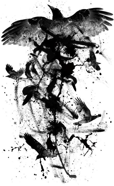 Graphisme hors commande - Raven | Illustration | Pinterest | Ravens, Tattoo and Crows