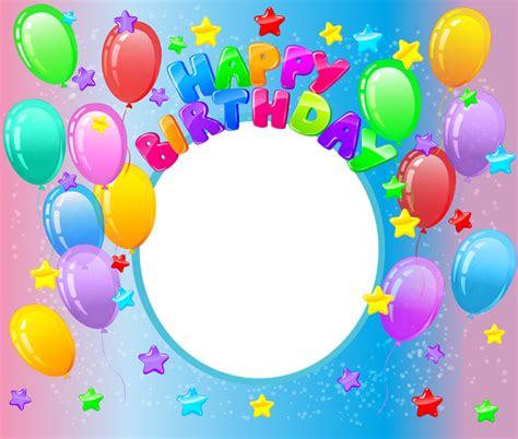 happy birthday transparent png photo frame gallery