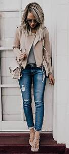20 Spring Outfits With Ripped Jeans That Are Worth Copying - Styleoholic