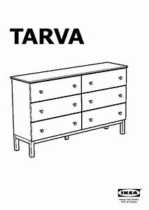 TARVA Commode 6 Tiroirs Pin IKEA France IKEAPEDIA