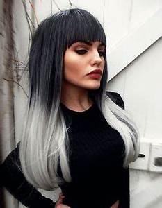 Haarfarbe Schwarz Grau : haare grau f rben hier finden sie alles was sie dar ber wissen m ssen frisuren haare grau ~ Frokenaadalensverden.com Haus und Dekorationen