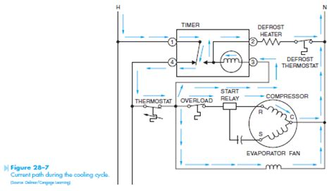 defrost timer wiring diagram precision get free image