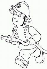 Fireman Coloring Hose Running Firefighters Play Clipart Firemen Printable Drawing Sheets Printables Kidsplaycolor College National Visit Painting Girlscoloring sketch template