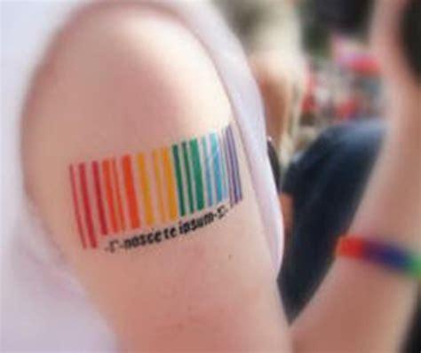tatuagens  demonstram  orgulho lgbt
