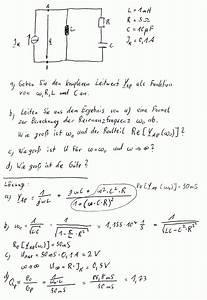 Reihenschaltung Stromstärke Berechnen : forum elektrotechnik schwingkreis resonanzfrequenz matheraum offene informations und ~ Themetempest.com Abrechnung