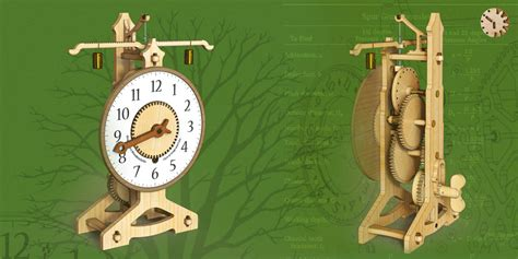 wooden clock woodenwallclockguides wooden gear clock plans free patterns dxf image mag
