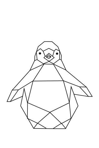 geometric animal ideas  pinterest geometric