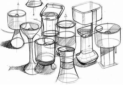 Sketch Industrial Pencil Sketches Sketching Lamps Lamp