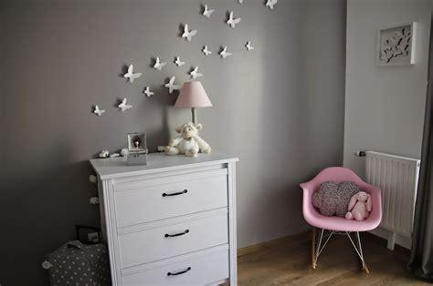 chambre fille papillon deco chambre bebe papillon visuel 6