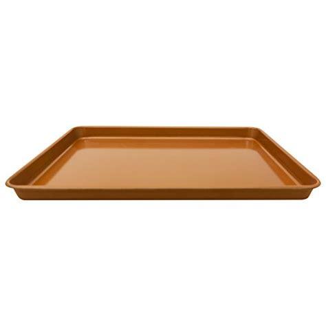 gotham steel  piece copper bakeware set  nonstick ti