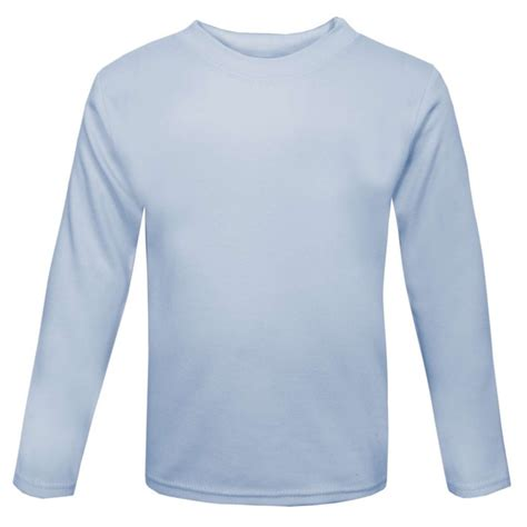 remain in light t shirt baby and blank long sleeve t shirt in light blue