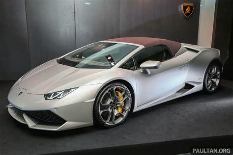 Lamborghini Huracan Spyder Now In M'sia, Fr Rm135m Image