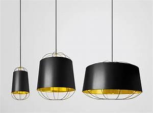 Petite Friture Luminaire : lanterna suspension noir or d couvrez luminaires ~ Preciouscoupons.com Idées de Décoration