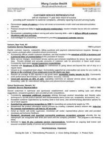 resume format for customer service representative customer service representative resume exle