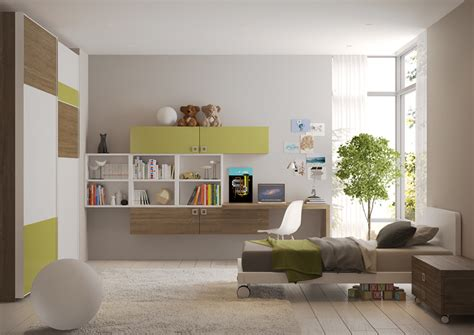meubles suspendus chambre enfant