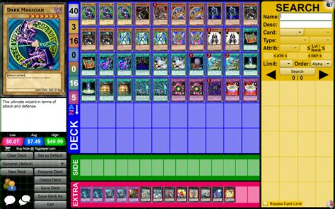 eye of timaeus deck tcg deck garage duelistgroundz