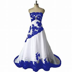 Wedding Dresses,Royal Blue Wedding Dresses,Taffeta Wedding ...