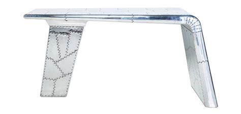 bureau avion bureau aile d 39 avion aviator aluminium pas cher