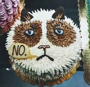 Grumpy Cat Cake Ideas 81553 | Grumpy Cat Cake Food Pinterest
