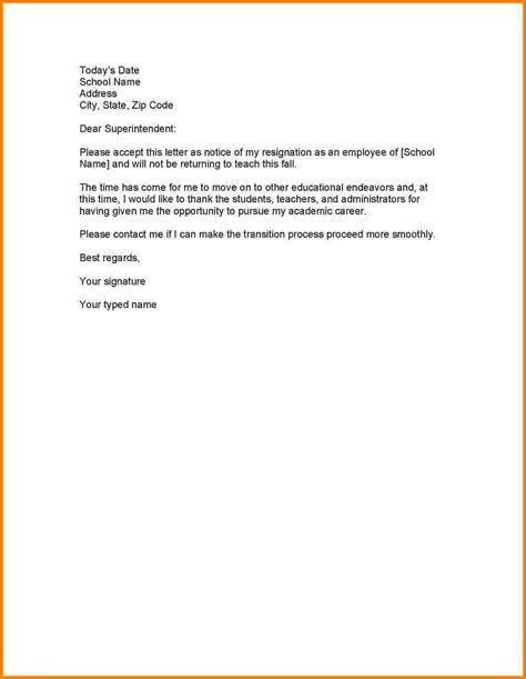 format letter  resignation  employee  resignation