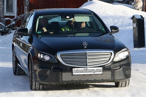 2018 Mercedesbenz Cclass Spied With Tweaks Automobile