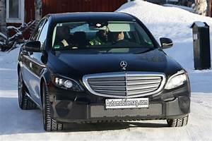2018 Mercedes Benz C Class Spied With Tweaks Automobile