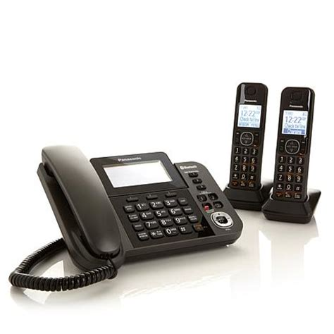 panasonic phone system panasonic corded and cordless phone system with link2cell