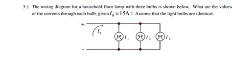 Solved The Wiring Diagram For Household Floor Lamp With