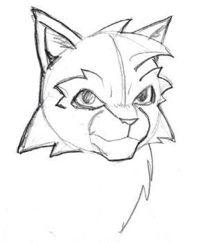 How To Draw Warrior Cats, Step By Step, Cartoon Animals