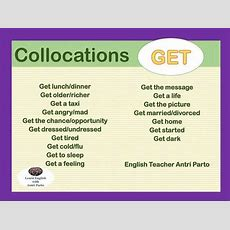 Collocations With Get  English Learn Site