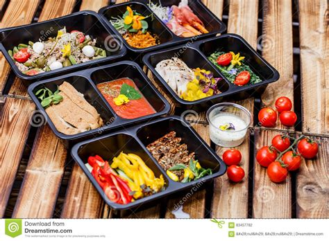 healthy food  diet concept restaurant dish delivery