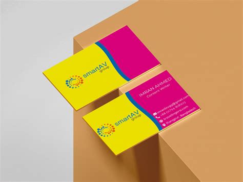 professional business card design  logical