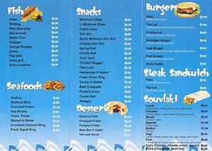 eltham fish and chips menu bolton fish shop bolton fish With fish and chip shop menu template